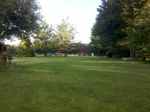 Cotswold campsite