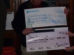Garry McGivern award and a couple of checks