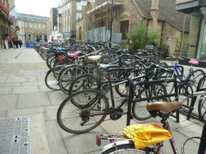 Bikes in Cambridge