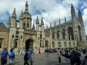 Kings college and chapel Cambridge