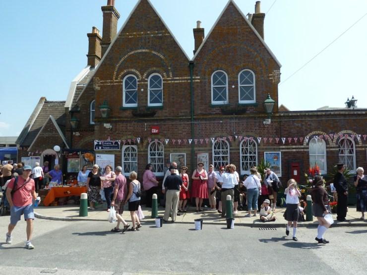 Lymington railway station