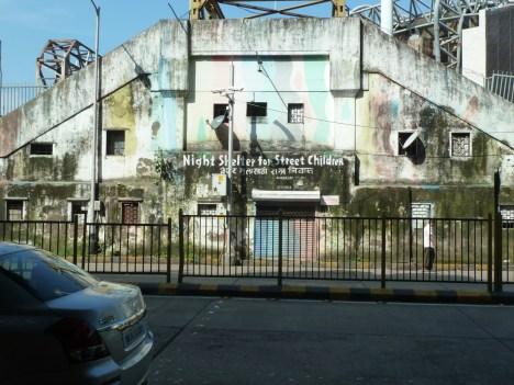 Night shelter for children in Mumbai