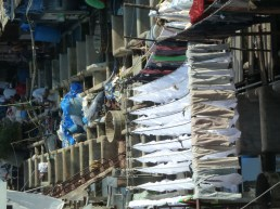 The Dhobi Ghat in Mumbai
