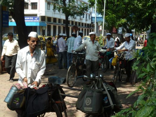 A few of the dabbawalas