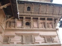 Wooden carvings inDurbar Square Kathmandu.
