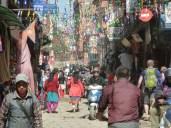 Street in Kathmandu.