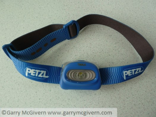 Petzel Tikka headlamp