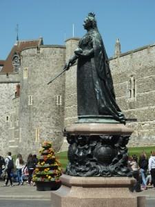 Queen Victoria Statue Windsor