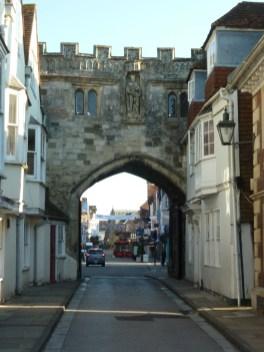 Salisbury city wall