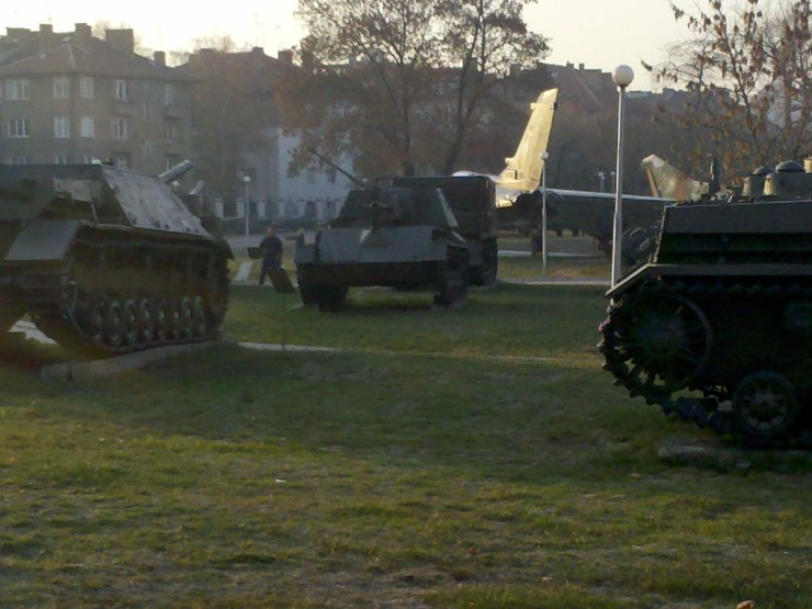Tanks in Sofia Bulgaria