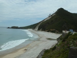 beach at San Antolin