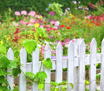 Schöne Gartenzaun Ideen
