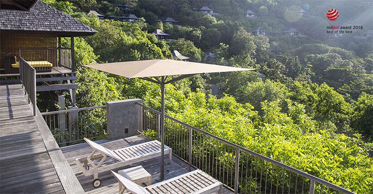 Wie Balkonschirme Terrassen und Garten verwandeln können