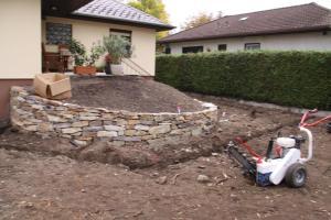 Baustelle Vorbereitung