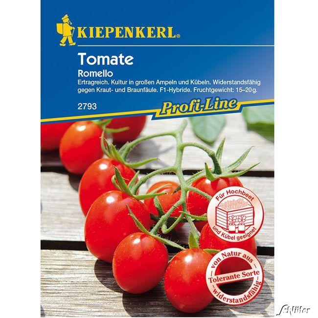 Mini-Pflaumen-Tomate 'Romello'