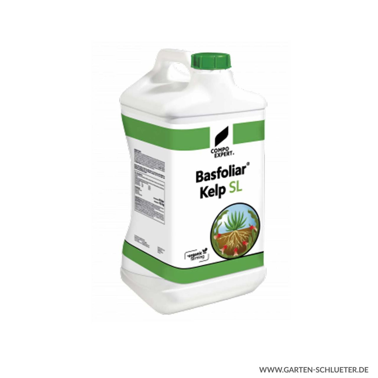 Biostimulanzien - Compo Expert® Basfoliar® Kelp SL - 10 Liter