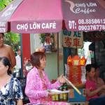 Saigon street view