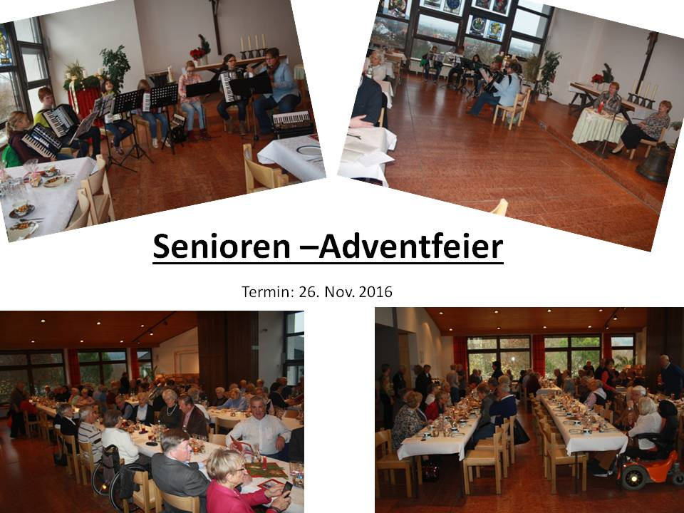 Senioren-Adventfeier 2016