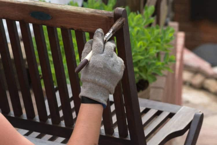 Gartenmöbel Pflege