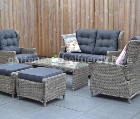 verstellbare lounge set virginia hellgrau garten m bel f r dich. Black Bedroom Furniture Sets. Home Design Ideas