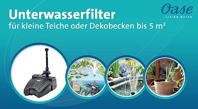 ratgeber unterwasser teichfilter