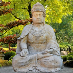 Asia style garten tipps und ideen for Steinskulptur garten