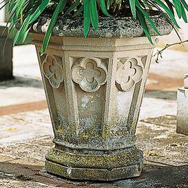 Pflanzgefäß aus Steinguss - Haddon Hall