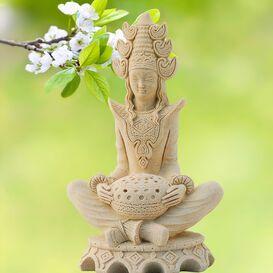 Buddha Figur aus Steinguss - Sakayas