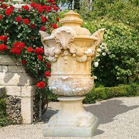Pflanztopf aus Steinguss - Montpellier