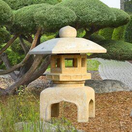 Japanische Laterne aus Steinguss - Sakai