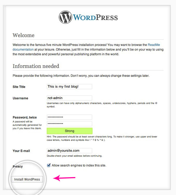 wordpress-instalaltion-step-5