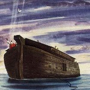 Image result for noah ark water bible
