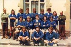 Blaengarw Youth RFC - 1975 - Mervyn Lewis Cup Winners