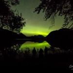 Trail Lake Alaska Aurora