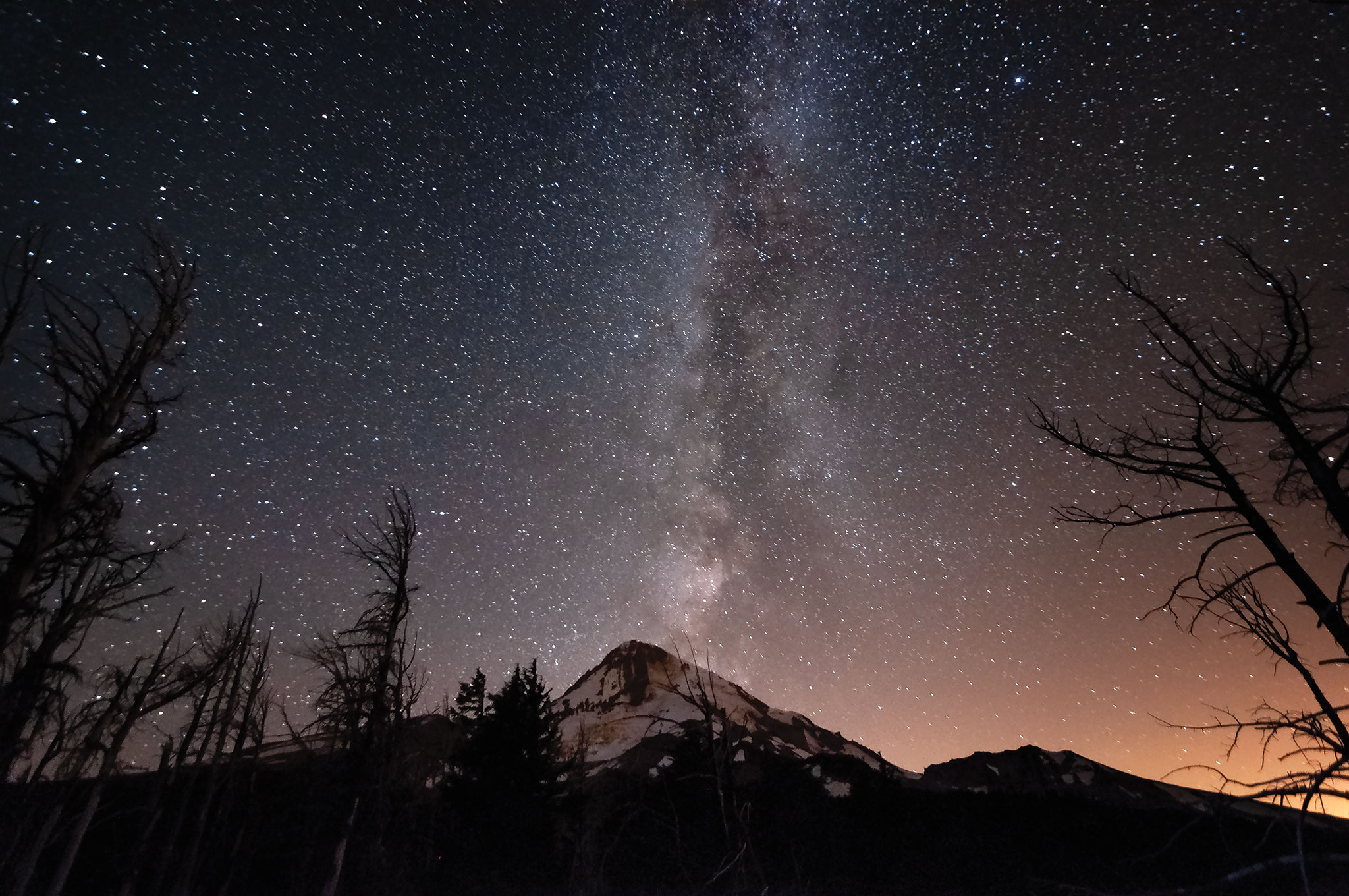 Mt Hood Milky Way