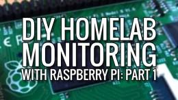 diy homelab monitoring part1