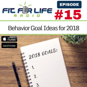 Behavior Goal Ideas for 2018