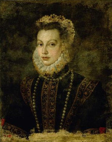 Sofonisba Anguissola – Portrait of Queen Elisabeth of Spain, 1599