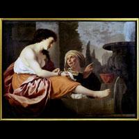 Gerrit van Bronckhorst Betsaben al Bagno in Galeria Nazionale d'Arte Antica Rome