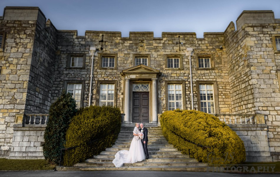 Leanne and Jason's wedding | Hazlewood Castle Photographer