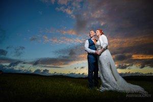 Nick and Jen's Tipi Wedding Photography - Holmfirth