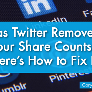 Twitter Removed Share Counts