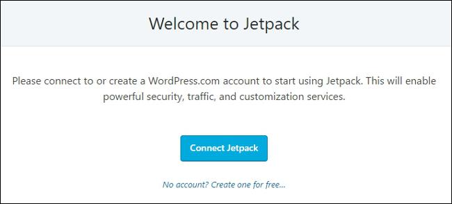 Jetpack Welcome