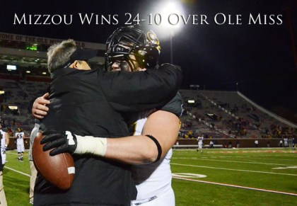 Missouri vs Ole Miss (Photo by Ben Walton)
