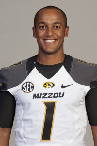 James Franklin - 2013 Mizzou Football Team Captain