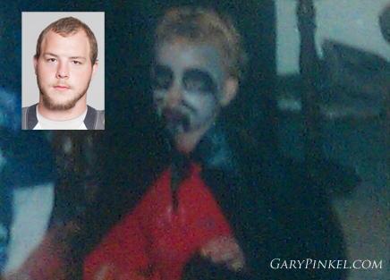 Mizzou Offensive Lineman Justin Britt was a vampire in Lebanon, Missouri.