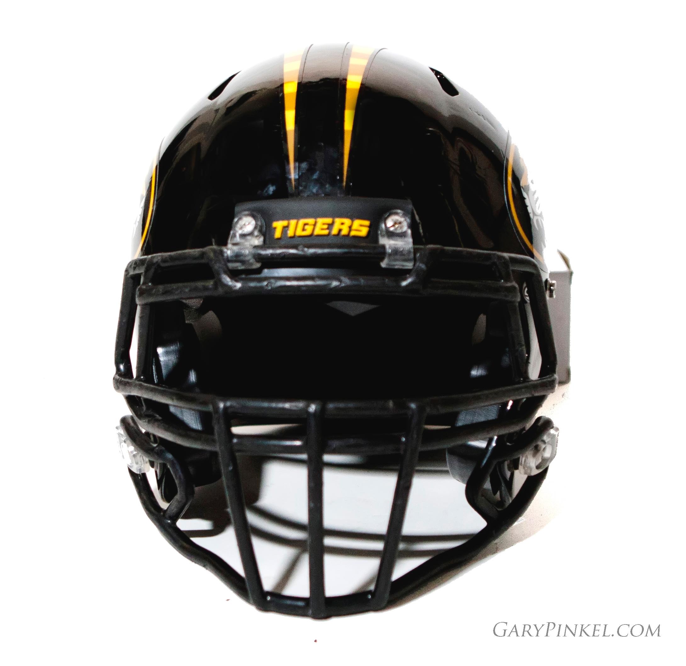 Back Bumper Football Helmets Types : Mizzou football nike uniform combination november