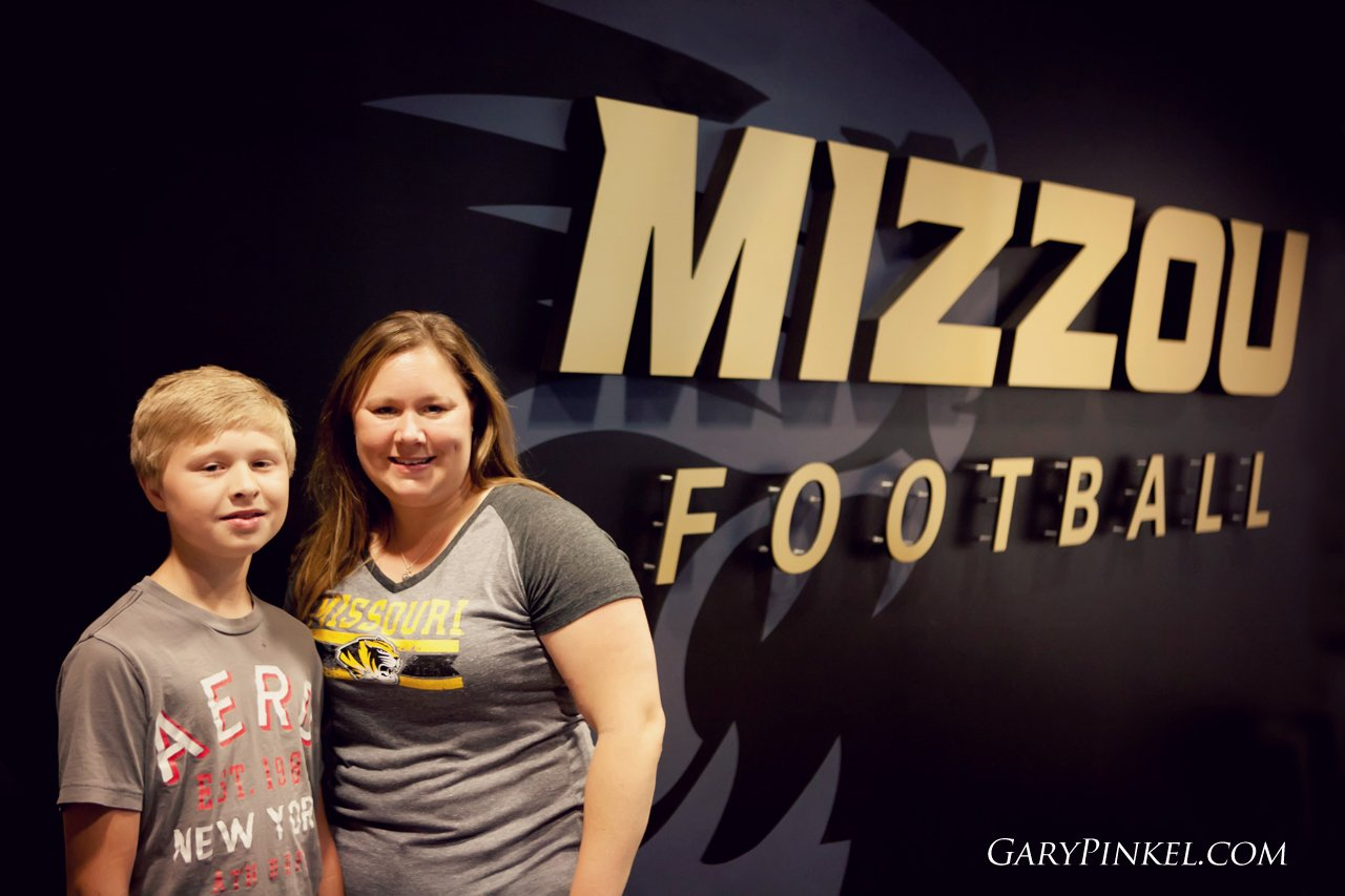 Jennifer Workes Season Tickets Mizzou Football