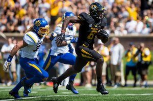 Mizzou Football vs South Dakota State - August 30, 2014 (Photo by Ben Walton)