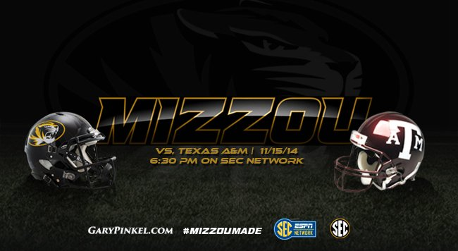 Mizzou Football vs. Texas AandM 2014